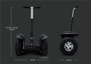 Two Wheel Big Tyre Mountain Balance Car Golf Scooter for Sale pictures & photos