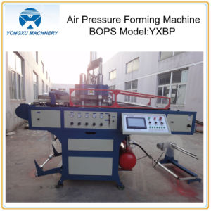 BOPS Automatic Air Pressure Forming Thermoforming Machine (YXBP580) pictures & photos