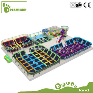 Customized Bounce Commercial Large Indoor Trampoline Zone pictures & photos