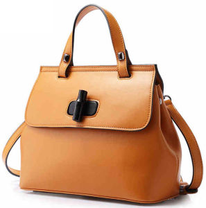 Fashionable Lady Leisure Leathre Handbag (LDO-15308) pictures & photos