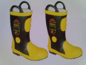 Fire Fighting Boots / Fire Resistant Safety Boots pictures & photos