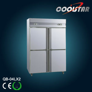 Economical Stainless Steel Commercial Refrigerator (QB-04L*2) pictures & photos