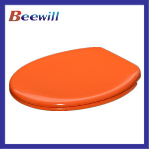 Easy Clean Duroplast Orange Colored Toilet Seat pictures & photos