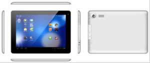 9.7 Inch WiFi Bluetooth GPS Tablet PC with Capacitive Screen&Android 4.1.1