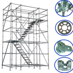 Construction Steel Ringlock Scaffolding System