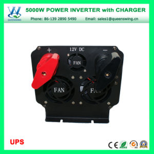 UPS 5000W Modified Sine Wave Power Inverter with Charger (QW-M5000UPS) pictures & photos