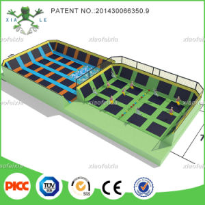 Hot and Popular Fun Large Indoor Trampoline for Sale Bungee Jumping pictures & photos