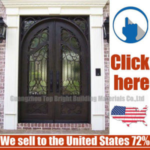 Cheap Price Secuity Wrought Iron Door pictures & photos