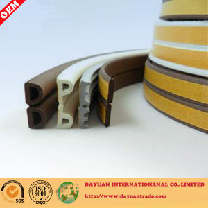 Sponge D, P, I Shape Self- Adhesive Rubber Seal Strip pictures & photos
