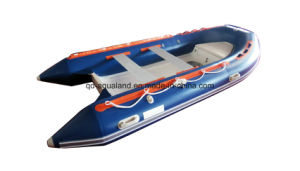 Aqualand 13feet 4m Rigid Inflatable Fishing Boat/Inflatable Dinghy (rib400) pictures & photos