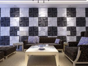 Waterproof Acoustic Sound 3D Panel / Board for Interior Wall Decorative pictures & photos