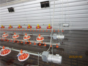 Environment Control House with Full Set Autoamtic Poultry Equipment pictures & photos