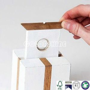 Customized New design Square Ring Gift Packing Paper Box