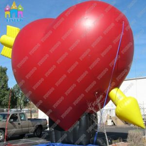 Red Hart-Shaped Inflatable Air Balloon pictures & photos