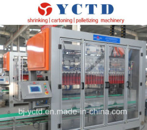 Carton Box Wrapped Packing Machine for Beverage Production Line (YCTD-YCZX-30K) pictures & photos