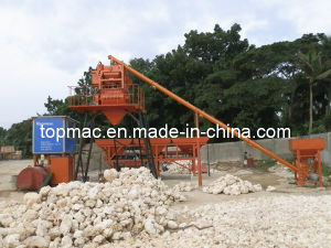 High Effective Modular Concrete Batching Plant with Best Quality pictures & photos