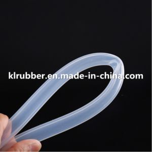 Food Grade Platinum Cured Transparent Silicone Rubber Hose for Coffee Machine pictures & photos
