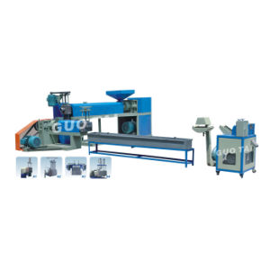Plastic Recycling Pelletizing Line/ Plastic Pelleting Machine (SJ140-SJ120) pictures & photos