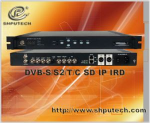 DVB-S/S2/T/C SD IRD/IRD Decoder/Satellite Receiver (SP-R5111)