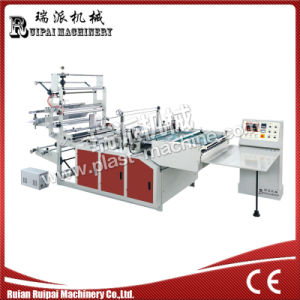 Computer Control Heat Cutting Side Sealing Bag Making Machine pictures & photos