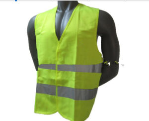 Yellow Traffic Roadway Protect Reflective Vest pictures & photos