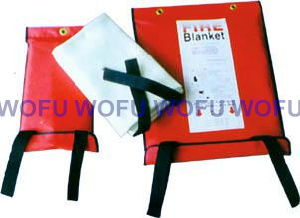 Fire Blanket Packed with PVC Soft Bag pictures & photos