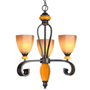 Traditional Rust Color Chandelier (MX-1233-3P) pictures & photos