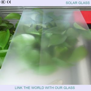 3.2mm Low Iron Float Glass for BIPV pictures & photos