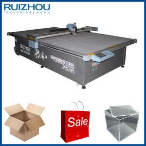 CNC Oscillating Knife Carton Box Cutting Machine pictures & photos