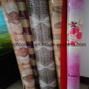Durable PVC Wood Flooring Rolls pictures & photos