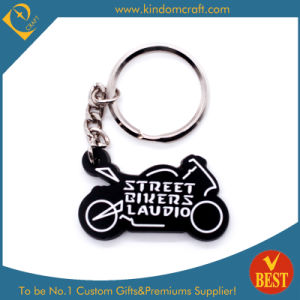 China High Quality Motor Shape Fashion Wholesale PVC Key Chain as Gift for Publicity pictures & photos