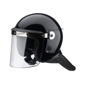 Anti Riot Helmet with Bigger Round Visor Anchor (FBK-L02) pictures & photos