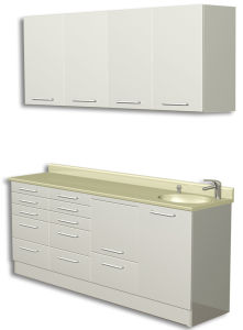 DC-16 Hot Selling and High Quality Dental Furniture Cabinet with CE pictures & photos