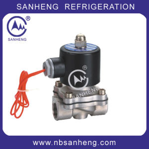High Quality Water Solenoid Valve for Air Conditioner (2S) pictures & photos