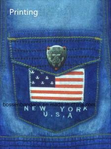 China Factory OEM Produce Customized Logo Denim Printed Microfiber Elastic Multifunctional Sports Scarves pictures & photos