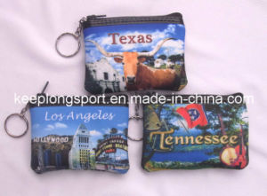 Fashionable Full Color Printing Neoprene Coin Case, Neoprene Case pictures & photos