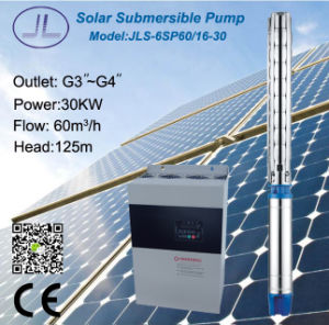 6in 30kw 40HP Centrifugal Solar Submersible Water Pump pictures & photos