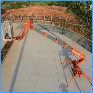Safe Reliable Spider Aerial Lift for Construction