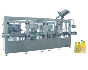 Automatic Pulp Beverage/Juicee Filling Capping System pictures & photos