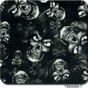 Tsautop Hydro Dipping Film 1m Width Water Transfer Printing Film Skull Tska204-1 pictures & photos