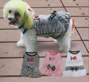Japanese Dog Clothes Dog T-Shirt Pet Clothes (YJ73505) pictures & photos