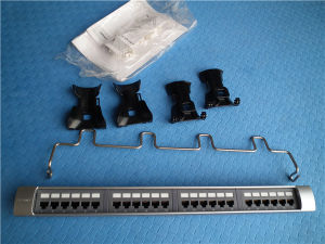 19′′ Systimax Style UTP Cat 6 24 Port Patch Panel
