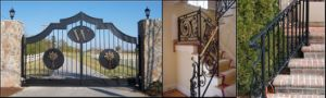 Wrought Iron Gate, Fence and Railing pictures & photos