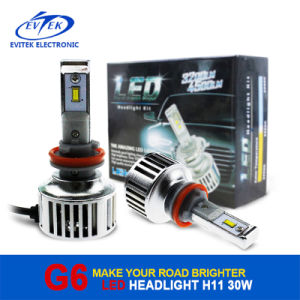 High Power LED Headlight 30W/40W 3200lm/4500lm Ce RoHS Approved 12 Months Warranty pictures & photos