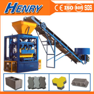 Most Popular Qt4-24 Small Block Machine Line Concrete Hollow Block Moulding Machine Price in Nigeria pictures & photos