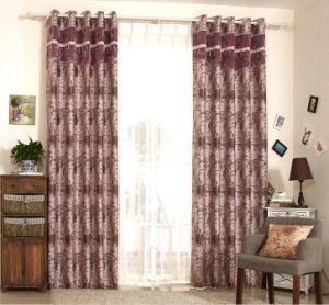 Simple Style Yarn Dyed Jacquard Fabric Curtain (MX-171) pictures & photos