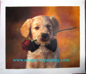 Oil Painting, Pets Oil Painting, Portrait Oil Painting