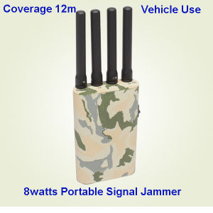 WiFi Powerful Cellphone/GPS/4G Signal Jammer, Mobile Phone Signal Jammer/Signal Blocker