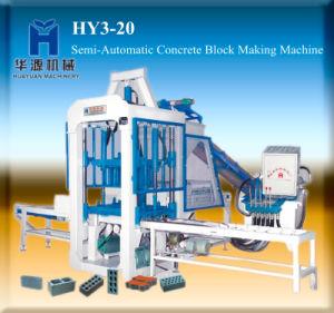 Small and Semi-Automatic Concrete Block Making Machine Qt3-20