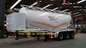 70cbm Dry Bulk Cement Powder Tanker Semi Trailer